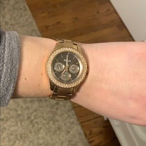 Fossil Jewelry - Rose Gold Fossil Watch